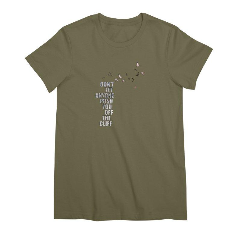 Jump Women's Premium T-Shirt by Half Moon Giraffe