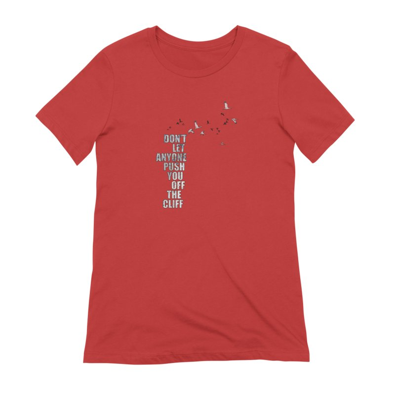 Jump Women's Extra Soft T-Shirt by Half Moon Giraffe