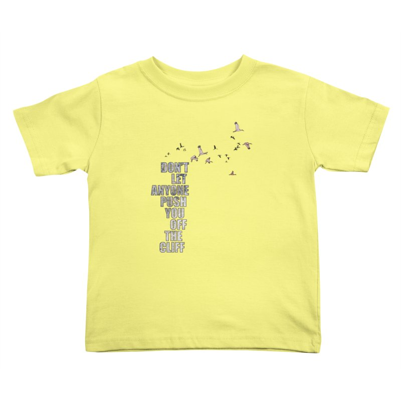 Jump Kids Toddler T-Shirt by Half Moon Giraffe