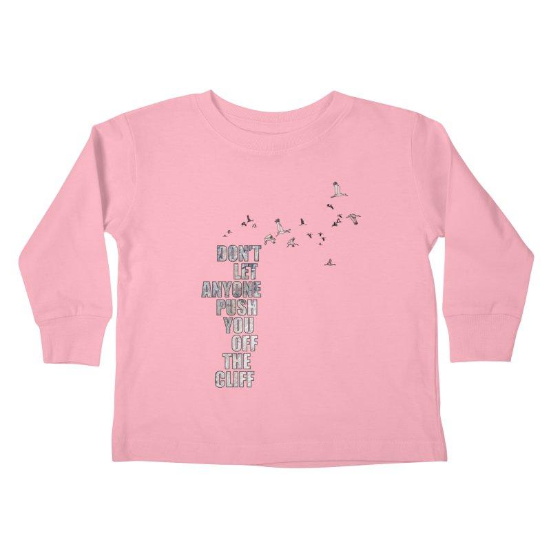 Jump Kids Toddler Longsleeve T-Shirt by Half Moon Giraffe