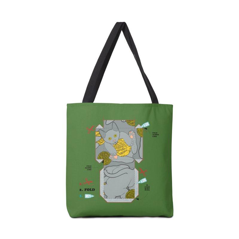 A Cat Above Accessories Bag by Half Moon Giraffe