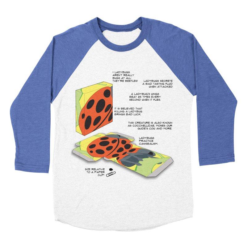 LadyBox Women's Baseball Triblend Longsleeve T-Shirt by Half Moon Giraffe