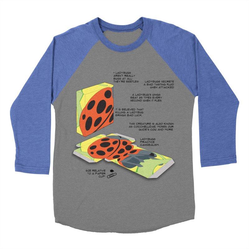 LadyBox Women's Baseball Triblend T-Shirt by Half Moon Giraffe
