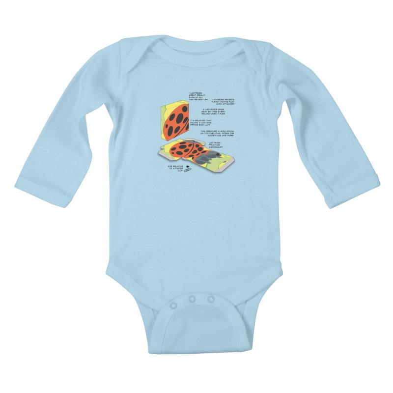 LadyBox Kids Baby Longsleeve Bodysuit by Half Moon Giraffe