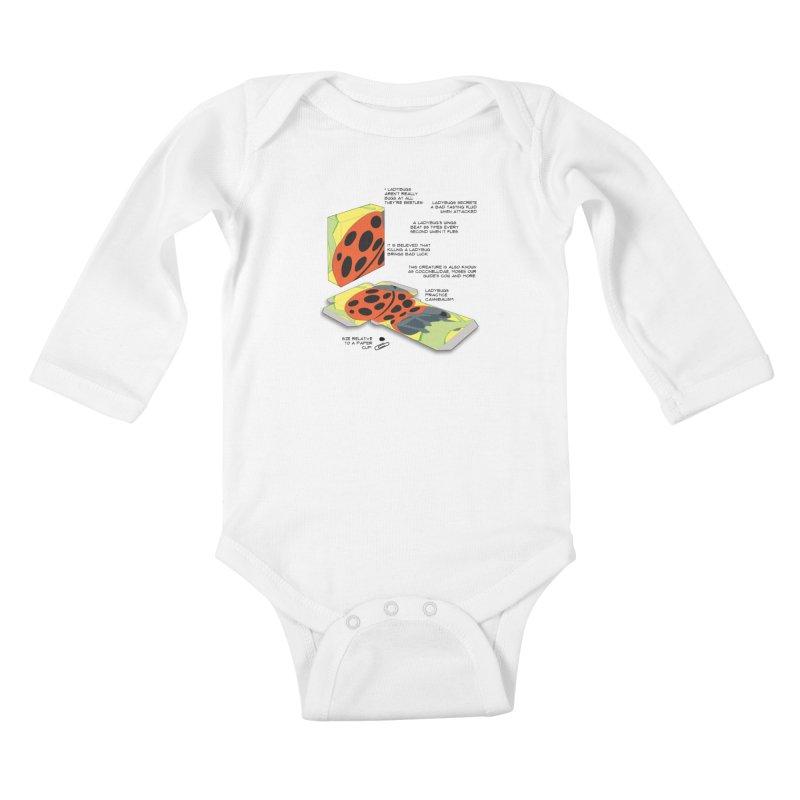 LadyBox Kids Baby Longsleeve Bodysuit by Half Moon Giraffe