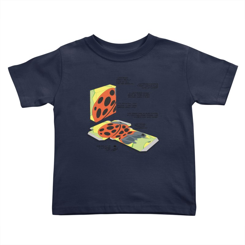 LadyBox Kids Toddler T-Shirt by Half Moon Giraffe
