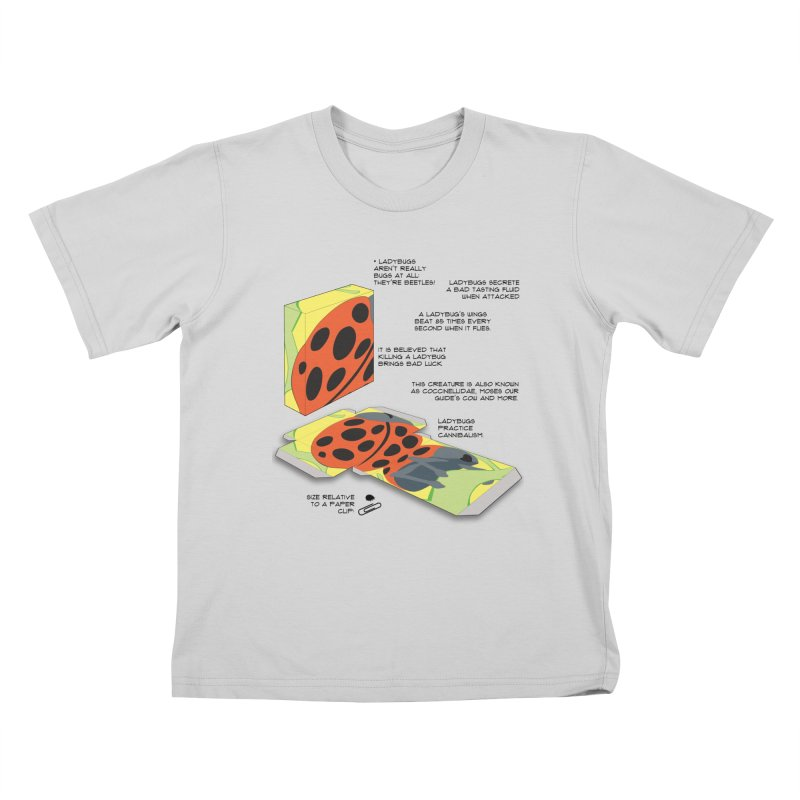 LadyBox Kids T-Shirt by Half Moon Giraffe