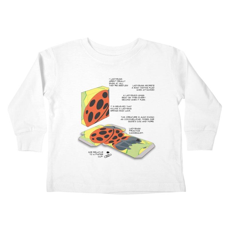 LadyBox Kids Toddler Longsleeve T-Shirt by Half Moon Giraffe