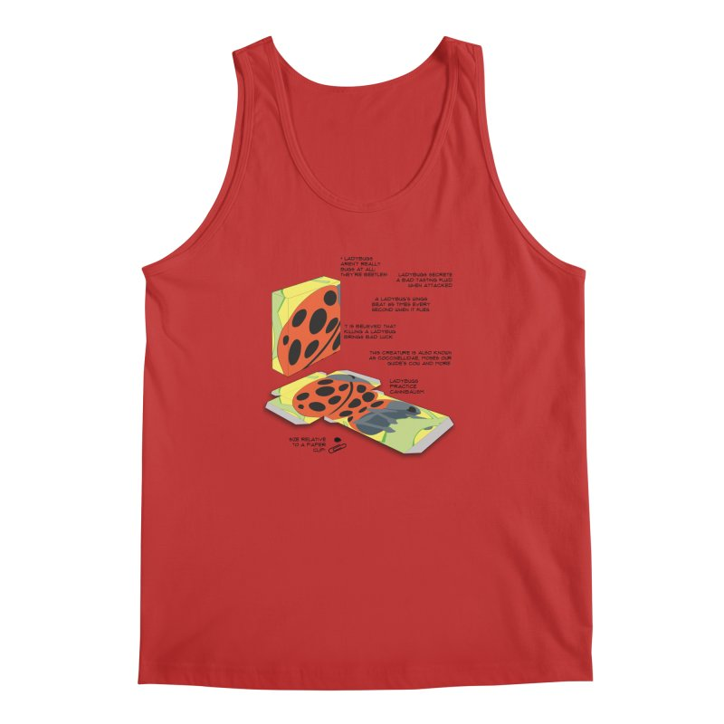 LadyBox Men's Regular Tank by Half Moon Giraffe