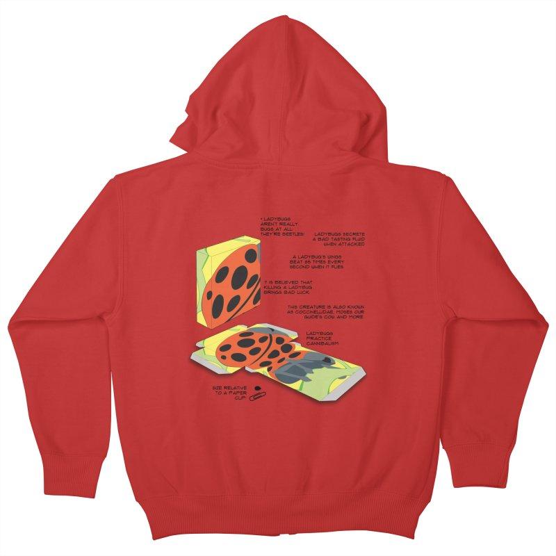LadyBox Kids Zip-Up Hoody by Half Moon Giraffe