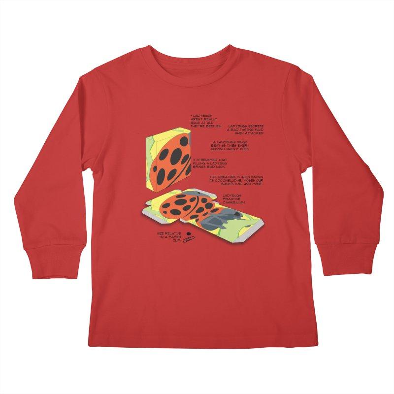 LadyBox Kids Longsleeve T-Shirt by Half Moon Giraffe