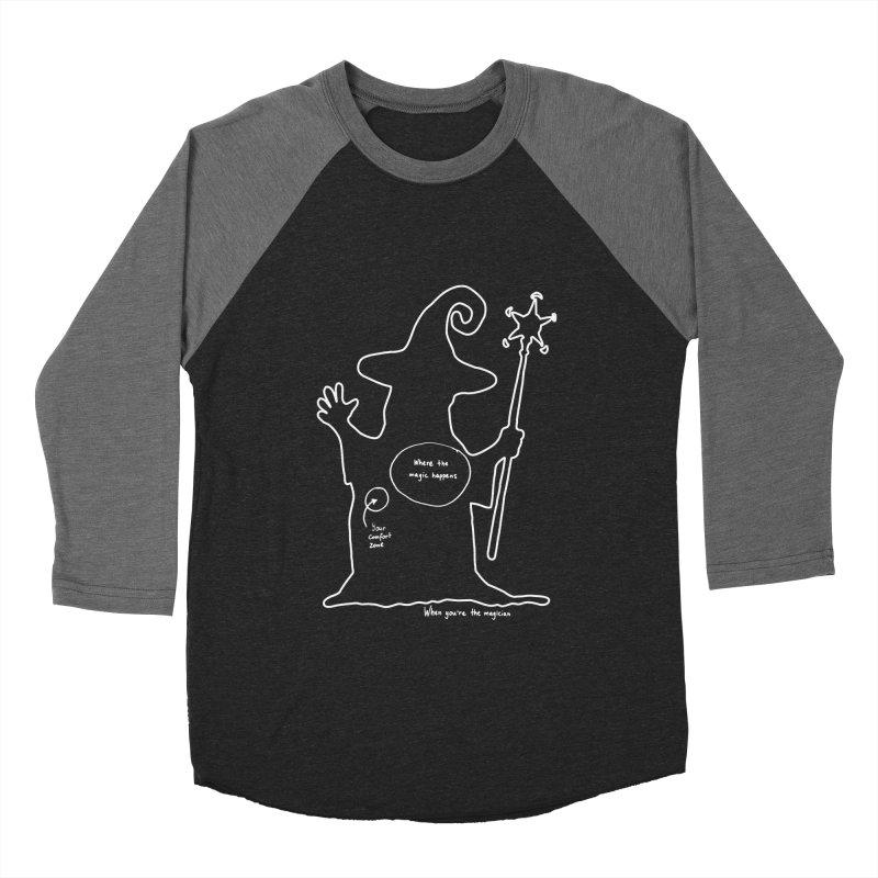 Sorcery Men's Baseball Triblend Longsleeve T-Shirt by Half Moon Giraffe