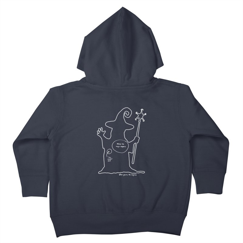 Sorcery Kids Toddler Zip-Up Hoody by Half Moon Giraffe