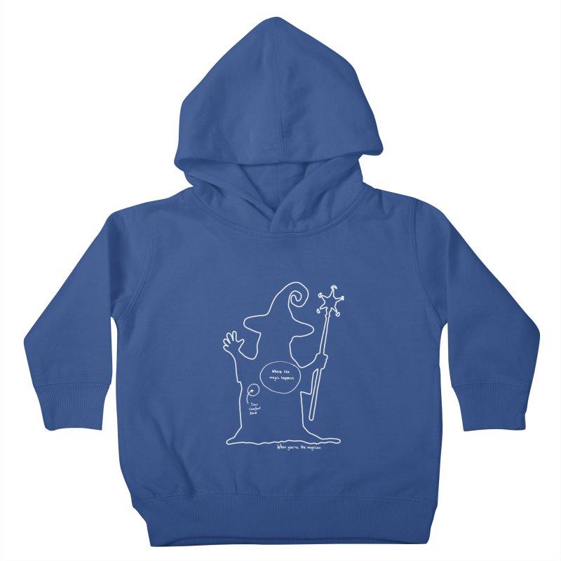 Sorcery Kids Toddler Pullover Hoody by Half Moon Giraffe
