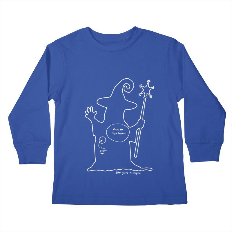 Sorcery Kids Longsleeve T-Shirt by Half Moon Giraffe