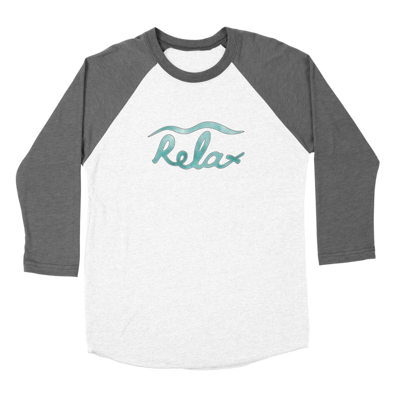 Relax Women's Longsleeve T-Shirt by Half Moon Giraffe