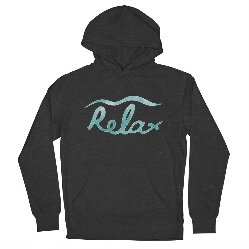 Relax Women's French Terry Pullover Hoody by Half Moon Giraffe