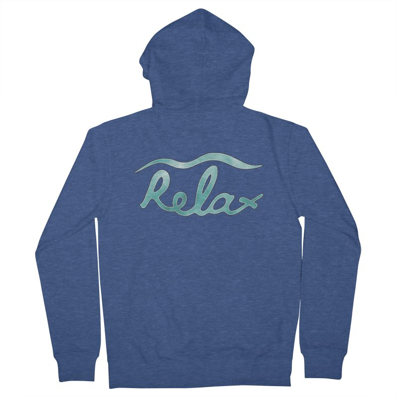 Relax Women's Zip-Up Hoody by Half Moon Giraffe