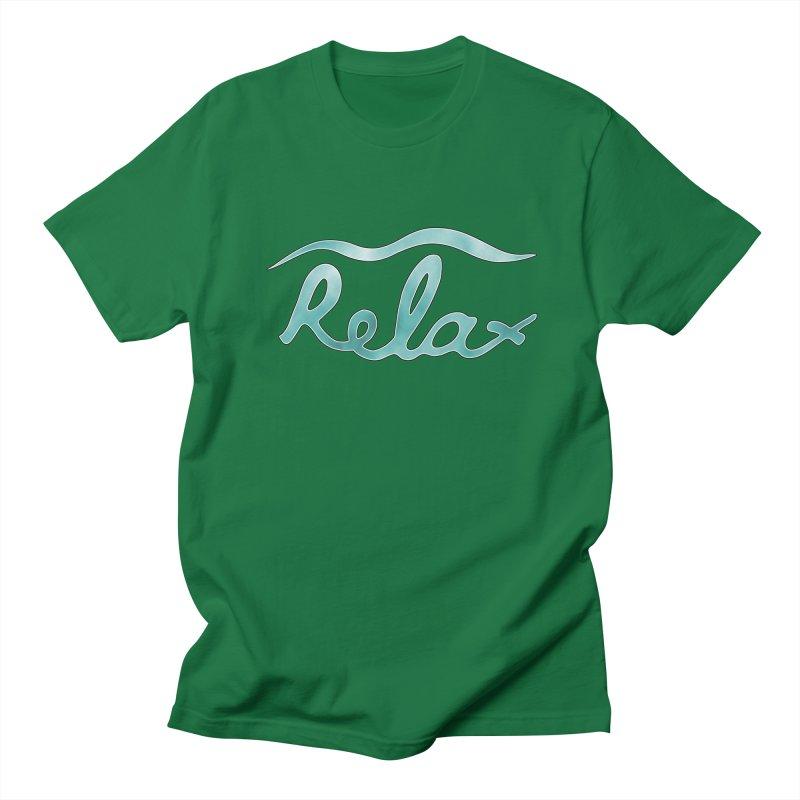 Relax Men's T-Shirt by Half Moon Giraffe