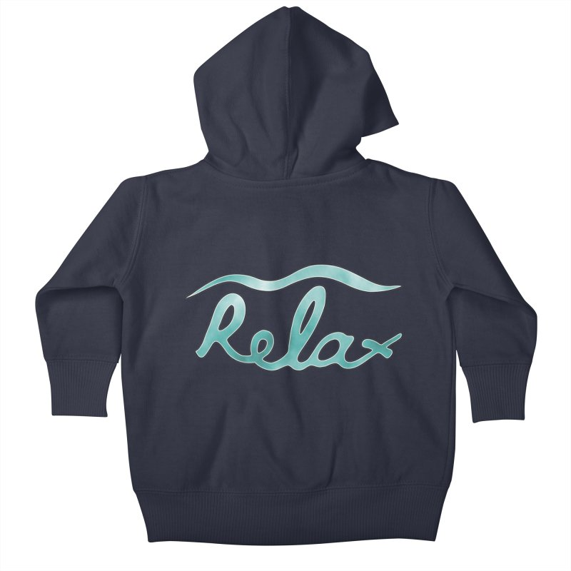Relax Kids Baby Zip-Up Hoody by Half Moon Giraffe