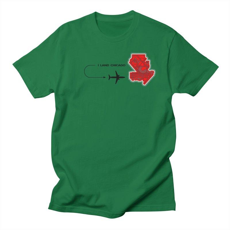ORD i Land Men's Regular T-Shirt by Half Moon Giraffe