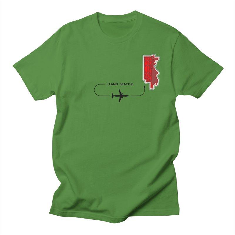 SEA i Land Men's Regular T-Shirt by Half Moon Giraffe