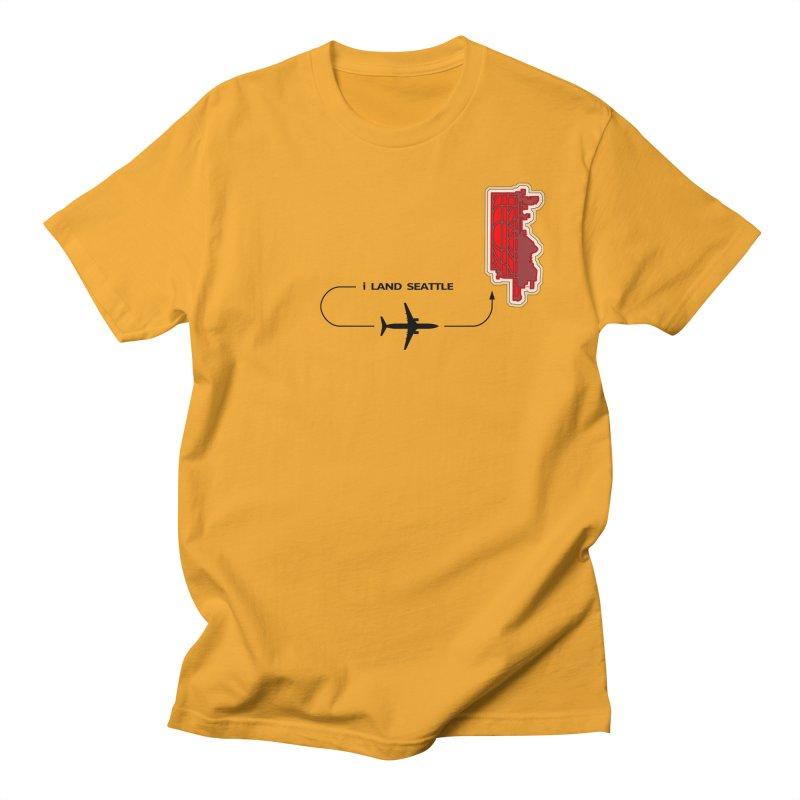 SEA i Land Men's T-Shirt by Half Moon Giraffe