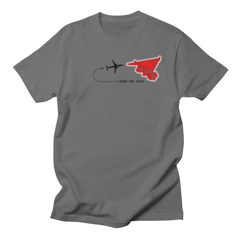 i Land TLV Men's T-Shirt by Half Moon Giraffe