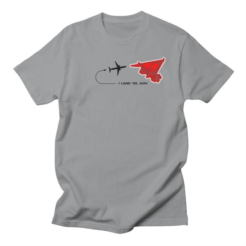TLV i Land Men's Regular T-Shirt by Half Moon Giraffe