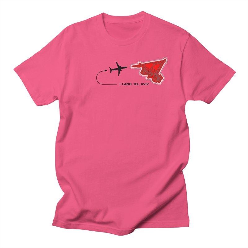 TLV i Land Men's T-shirt by Half Moon Giraffe