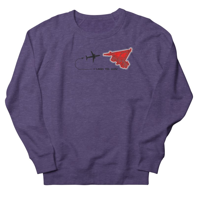 TLV i Land Women's Sweatshirt by Half Moon Giraffe