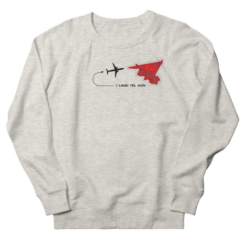 TLV i Land Men's Sweatshirt by Half Moon Giraffe