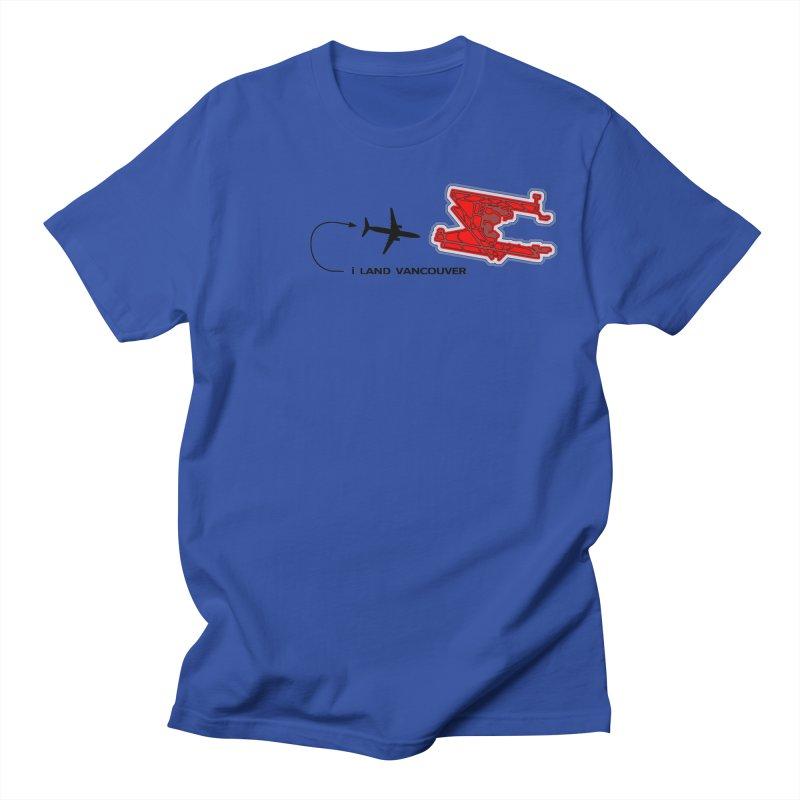 YVR i Land Men's Regular T-Shirt by Half Moon Giraffe