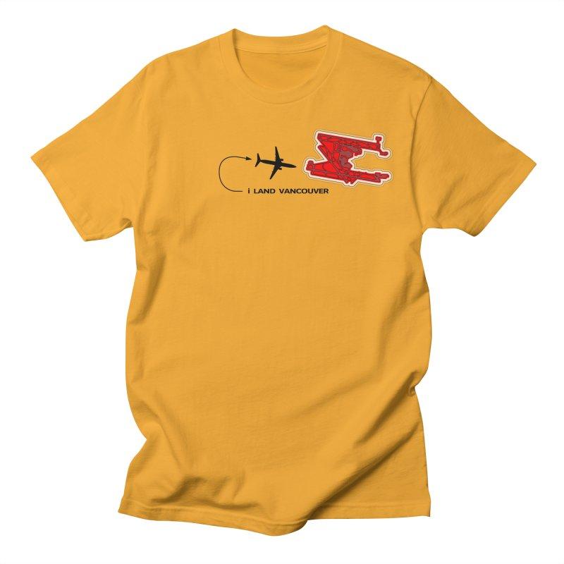YVR i Land Men's T-Shirt by Half Moon Giraffe