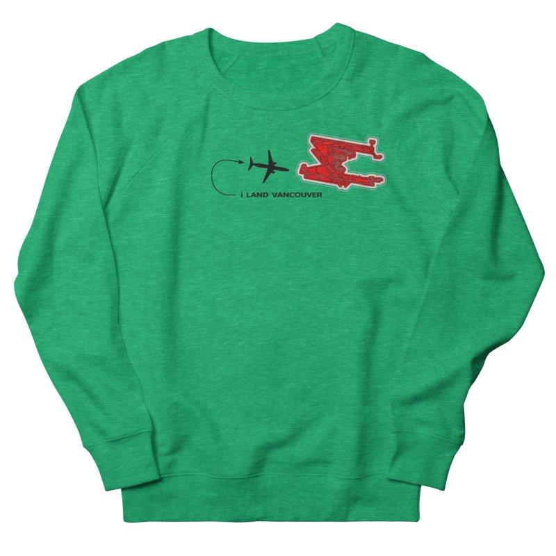 YVR i Land Women's Sweatshirt by Half Moon Giraffe