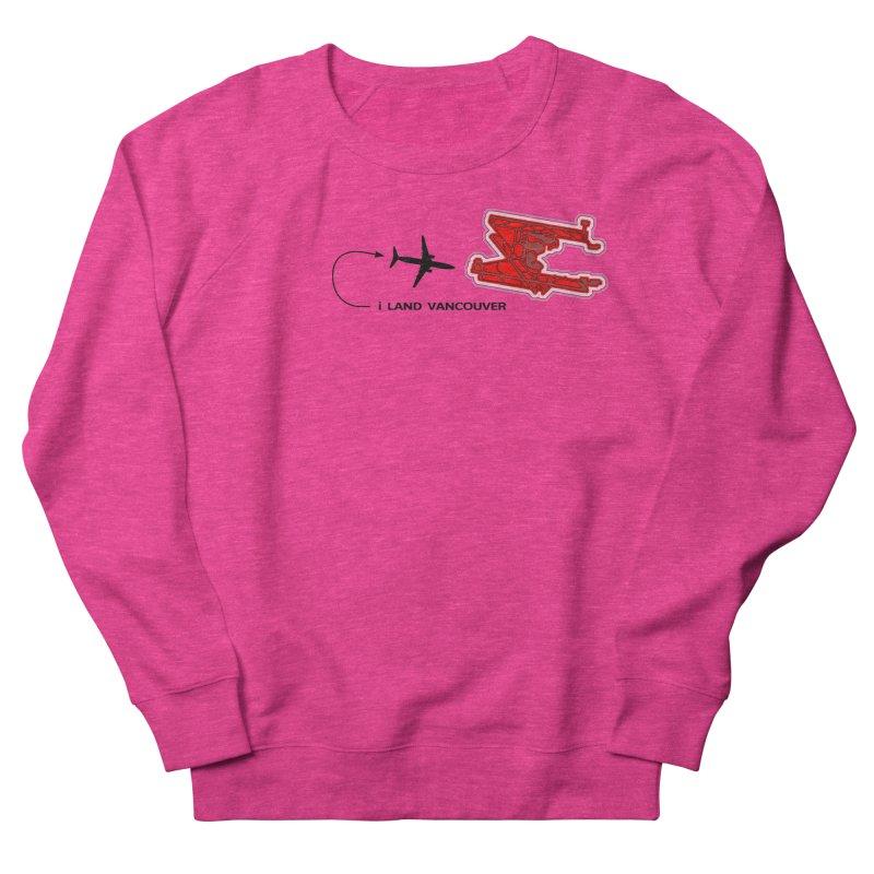 i Land YVR Women's French Terry Sweatshirt by Half Moon Giraffe