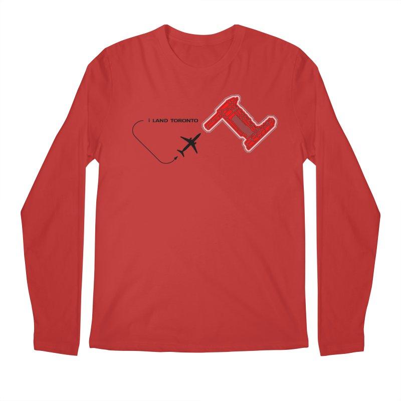 i Land YYZ Men's Regular Longsleeve T-Shirt by Half Moon Giraffe