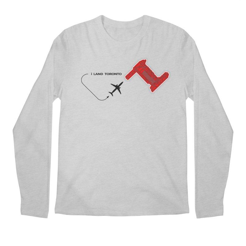YYZ i Land Men's Regular Longsleeve T-Shirt by Half Moon Giraffe