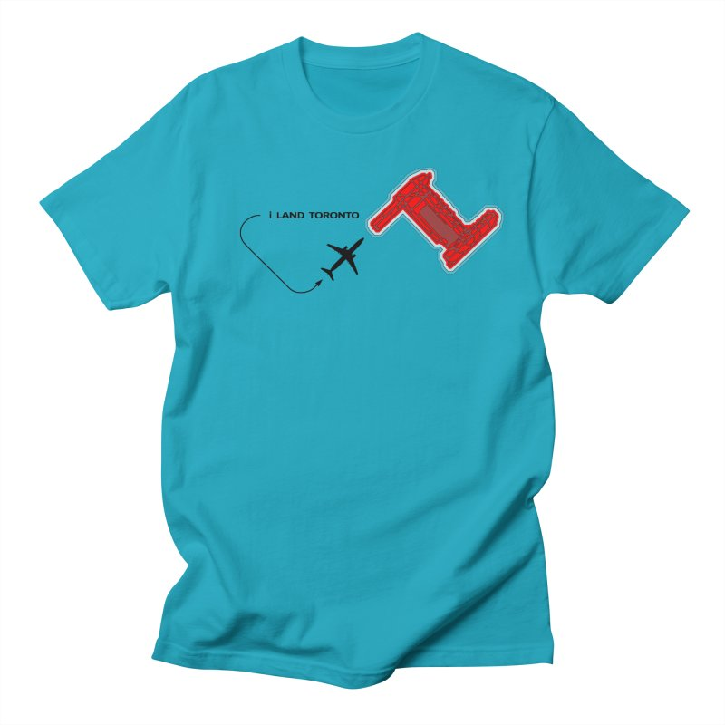 YYZ i Land Men's T-Shirt by Half Moon Giraffe