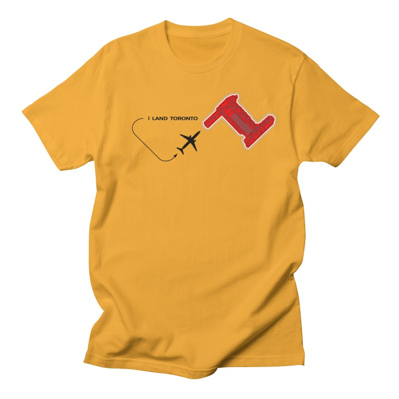 YYZ i Land Men's Regular T-Shirt by Half Moon Giraffe