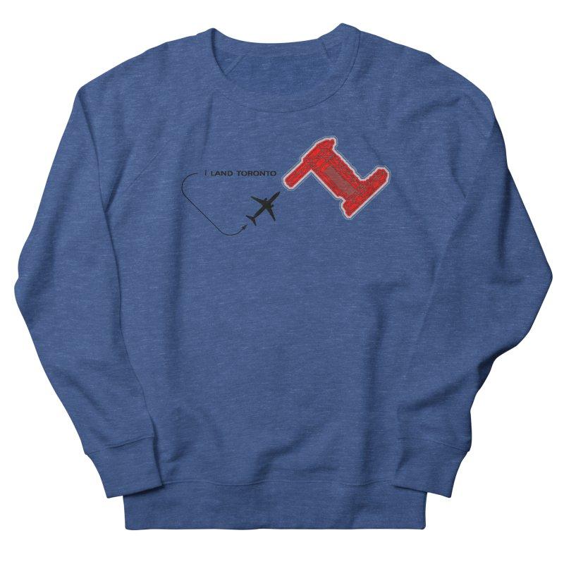 YYZ i Land Women's French Terry Sweatshirt by Half Moon Giraffe
