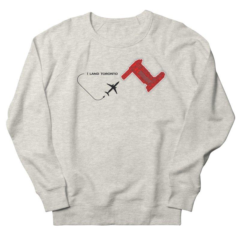 i Land YYZ Women's French Terry Sweatshirt by Half Moon Giraffe