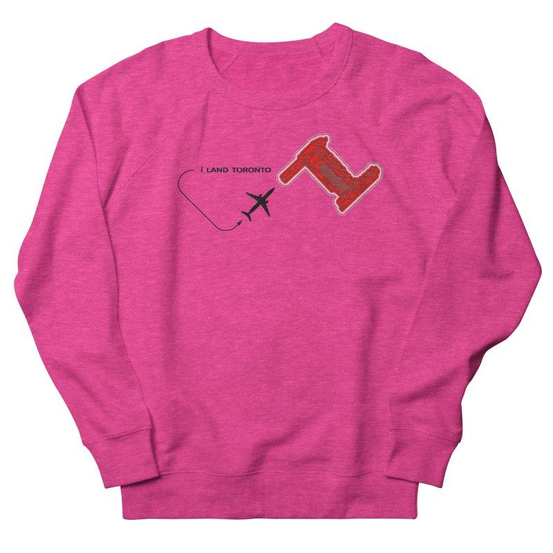 YYZ i Land Men's Sweatshirt by Half Moon Giraffe