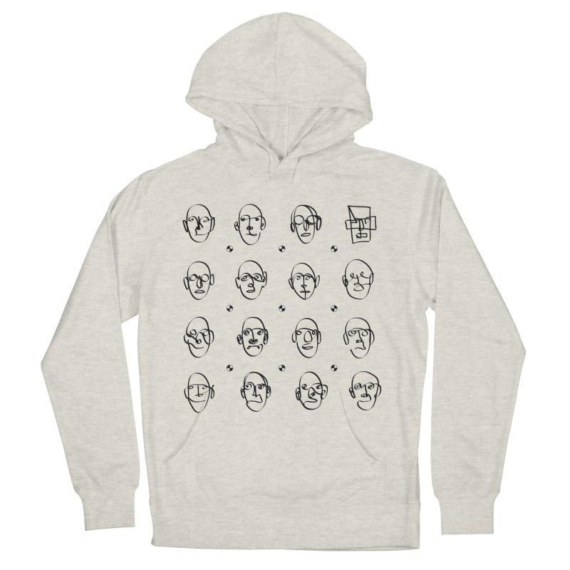 Face It - Homme Men's Pullover Hoody by Half Moon Giraffe
