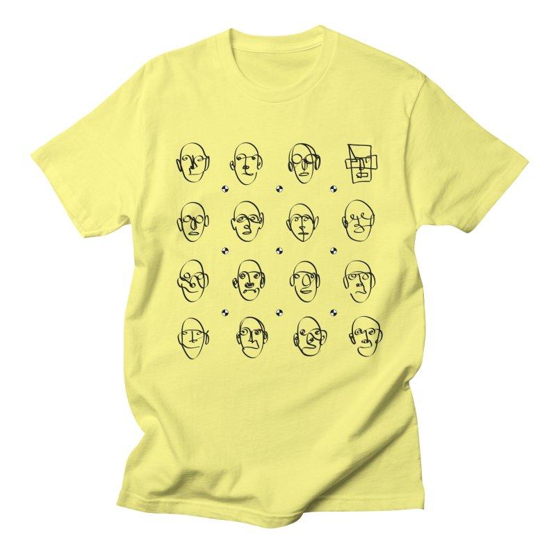 Face It - Homme Men's T-Shirt by Half Moon Giraffe