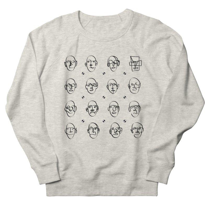 Face It - Homme Men's Sweatshirt by Half Moon Giraffe