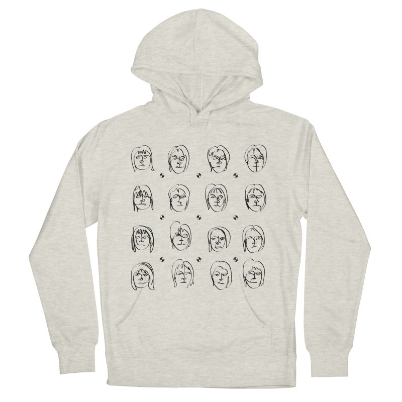 Face It - Femme Men's French Terry Pullover Hoody by Half Moon Giraffe