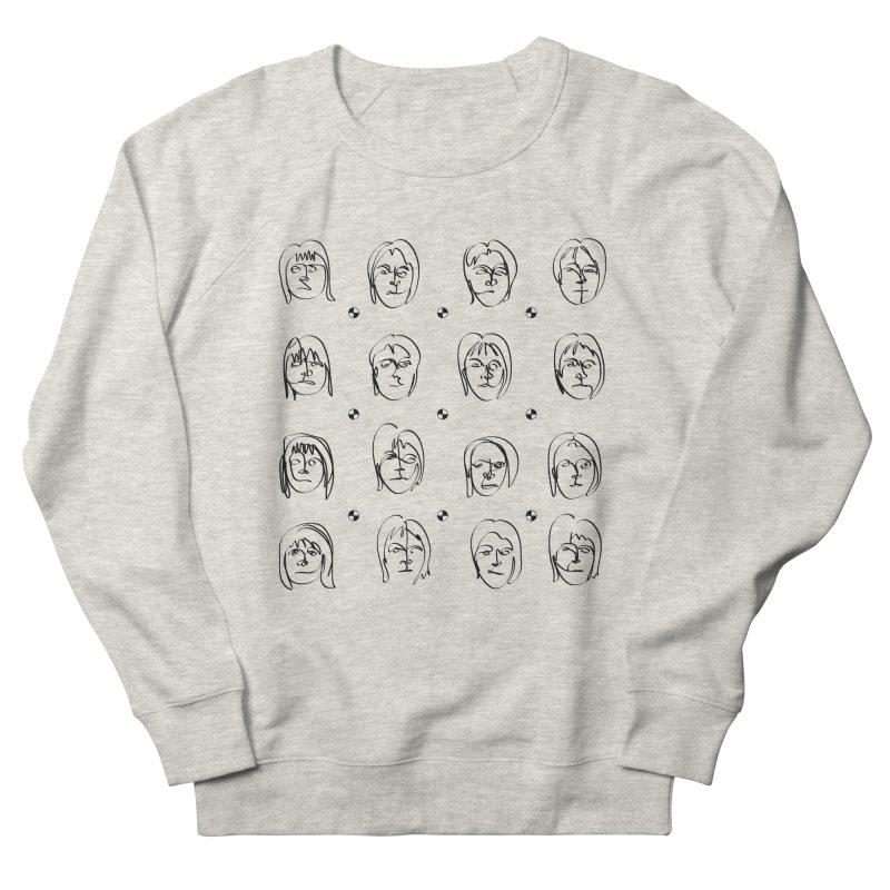 Face It - Femme Men's French Terry Sweatshirt by Half Moon Giraffe