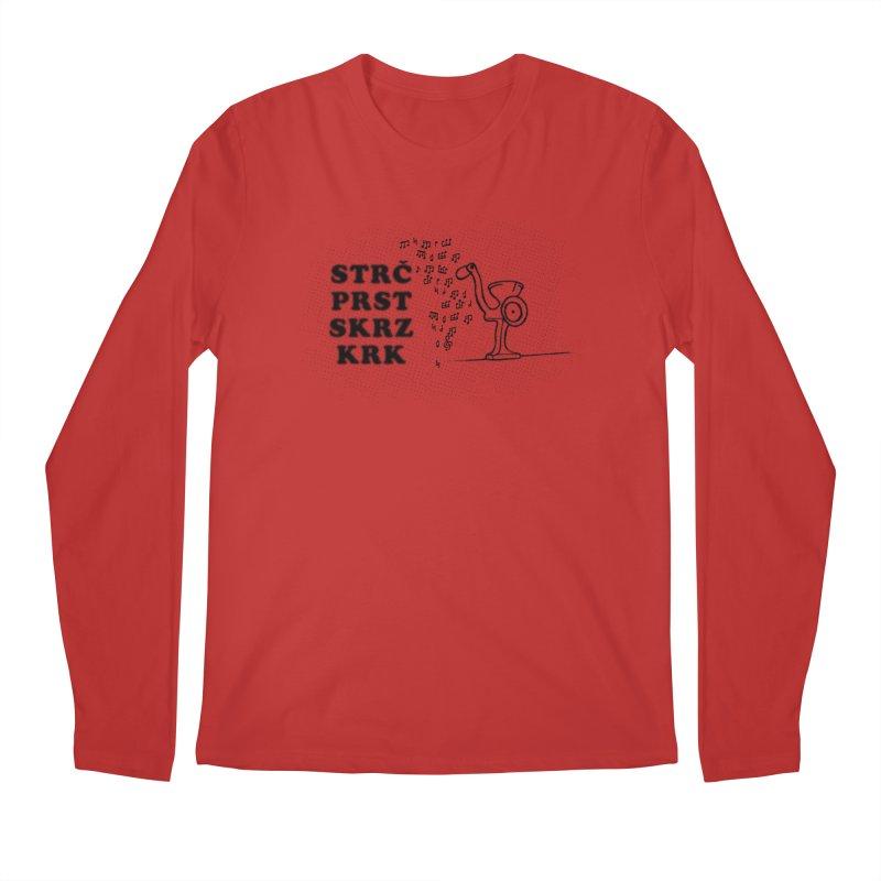 The Grind Men's Regular Longsleeve T-Shirt by Half Moon Giraffe