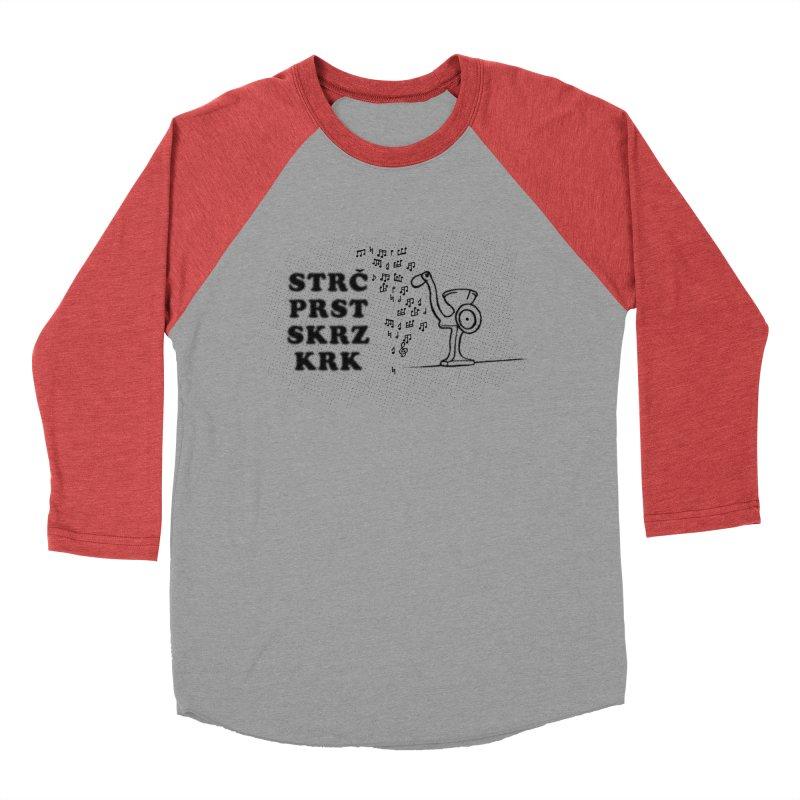 The Grind Women's Baseball Triblend T-Shirt by Half Moon Giraffe